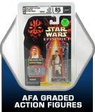 AFA Graded Action figure toys