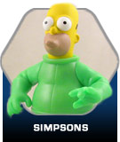 Simpsons action figure toys
