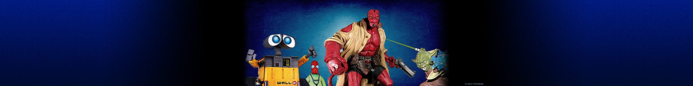 ToyHive: Hellboy Zoidberg and Wall-E